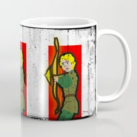 dungeons and dragons Mugs featuring DUNGEONS & DRAGONS - HANK by Zorio