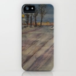 Cold Times iPhone Case