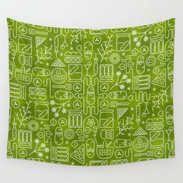 Pickles Picnic Wall Tapestry