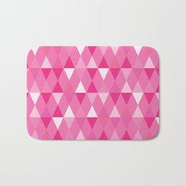 Harlequin Print Pinks Bath Mat