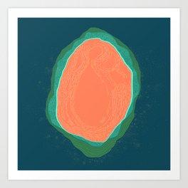 Oyster Art Print