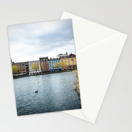 Cloudy, But Friday Stationery Cards