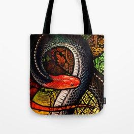 Red-Headed Krait Tote Bag