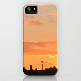 Sunset in Japan iPhone Case