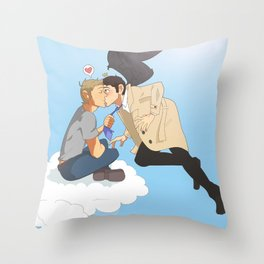 'Cloud Seeding' Throw Pillow