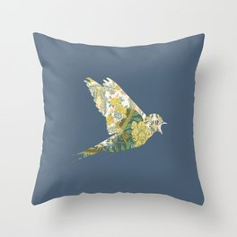 Swallow Throw Pillow