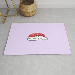Maguro Sushi Cat Rug