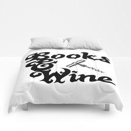 Books & Wine Comforters