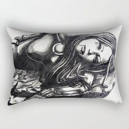 Depression by Kate Morgan Rectangular Pillow