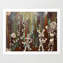 Children of the Jungle Art Print