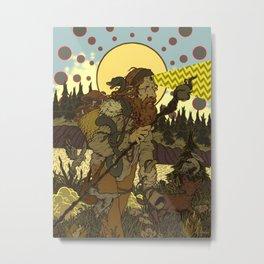 Vision Trapper Metal Print