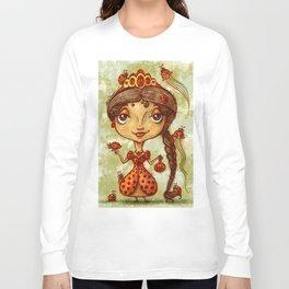 """""""Lady Ladybug"""" Long Sleeve T-shirt"""