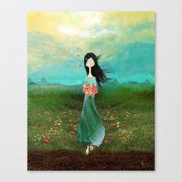 Blazing Glory Canvas Print