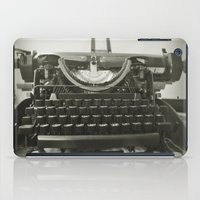 "typewriter iPad Cases featuring typEwriTer by ""CVogiatzi."