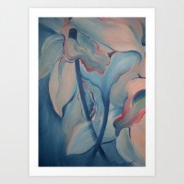 FLOWER POWER - Floral Ballet Art Print