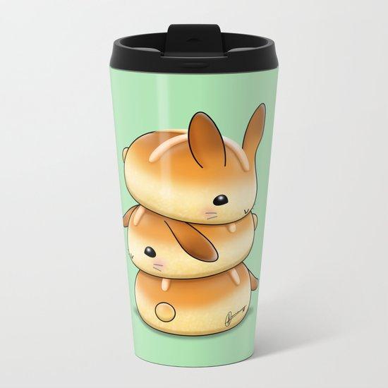 Hot Cross Bunbuns Metal Travel Mug