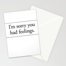 Cards for Engineers - Feelings Stationery Cards