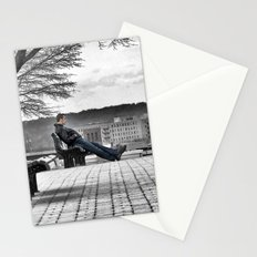 Alone on the Hill Stationery Cards