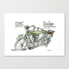RUDGE, 1911 motorcycle, UK Canvas Print