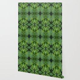 Leafy Four Wallpaper