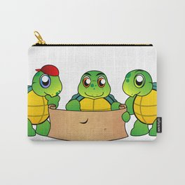 The Adventures of Mr. Turtle Carry-All Pouch