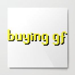 Buying GF Metal Print