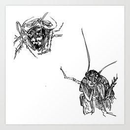 Cucaracha #10 Art Print