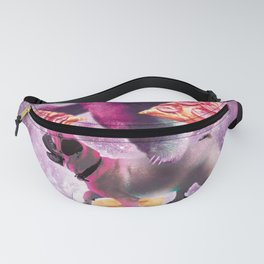 Space Pizza Sloth On Pug Unicorn On Waffles Fanny Pack