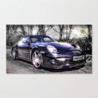 porsche Canvas Prints featuring Porsche by ian hufton