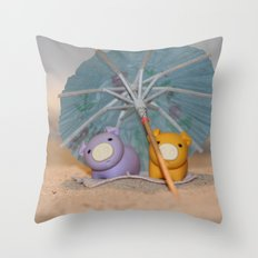 Sunny Sunday Throw Pillow