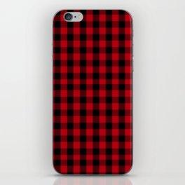 Buffalo Plaid Pattern iPhone Skin