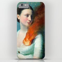 Portrait of a Heart iPhone Case