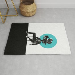 Balance between the familiar and the dream Rug