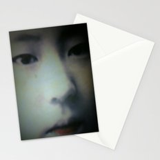 Little Asian Girl Stationery Cards