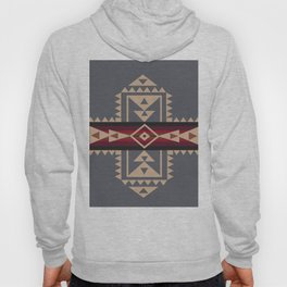 American Native Pattern No. 121 Hoody