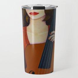 Guilhermina Suggia - Woman cellist of fire Travel Mug