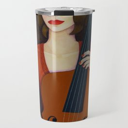 Guilhermina Suggia - Woman cellist of fire Travel Mug