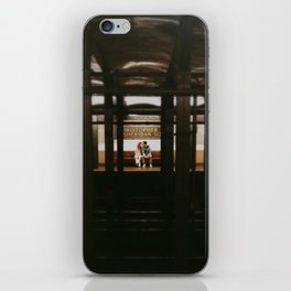 New York Subway Station: Christopher Street Sheridan Square iPhone Skin