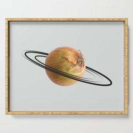 onion saturn Serving Tray