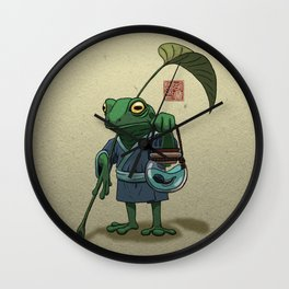 A frog and his...son? Wall Clock