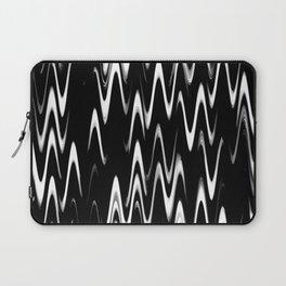 WAVY #1 (Black & White) Laptop Sleeve
