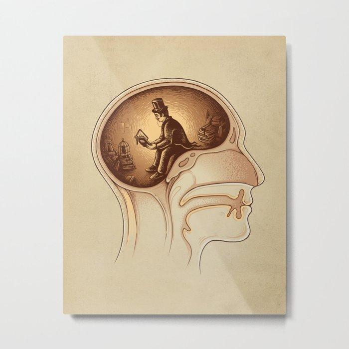 Mind Reader Metal Print