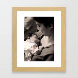 My little Lavinia Framed Art Print