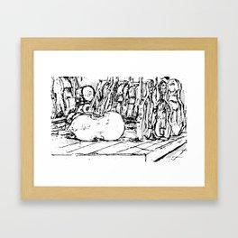 Hello Cello Framed Art Print