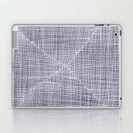 Ink Weaves: White Quartz Laptop & iPad Skin