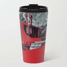 Red Valley Metal Travel Mug