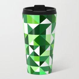 Green Machine / Pattern #8 Travel Mug