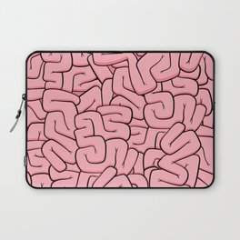 Guts or Brains - Pink Laptop Sleeve