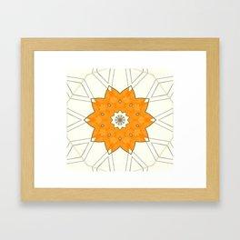 Orange #1 Framed Art Print