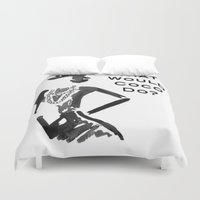 coco Duvet Covers featuring COCO by I Love Decor